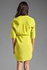Image 4 of Amanda Uprichard Staci Dress in Lime