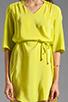 Image 5 of Amanda Uprichard Staci Dress in Lime