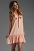 Image 1 of Amanda Uprichard Silk Sophie Dress in Ballet