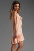 Image 3 of Amanda Uprichard Silk Sophie Dress in Ballet