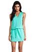Image 1 of Amanda Uprichard Brittany Dress in Mint