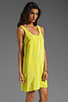 Image 3 of Amanda Uprichard Tank Dress in Lime