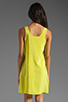 Image 4 of Amanda Uprichard Tank Dress in Lime