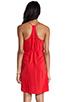 Image 3 of Amanda Uprichard Button Back Dress in Red