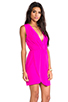 Image 3 of Amanda Uprichard Crystal Dress in Hot Pink