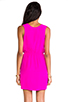 Image 4 of Amanda Uprichard Crystal Dress in Hot Pink