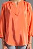 Image 3 of Amanda Uprichard Highliner Blouse in Coral