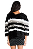 Image 4 of April, May Freeze Rabbit Pullover in Black