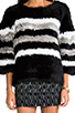Image 5 of April, May Freeze Rabbit Pullover in Black