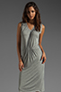 Image 1 of American Vintage Rilato Dress in Heather Grey