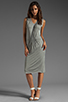 Image 2 of American Vintage Rilato Dress in Heather Grey