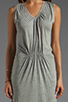 Image 5 of American Vintage Rilato Dress in Heather Grey