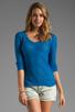Image 1 of American Vintage Adams Pullover Sweater in Cobalt