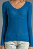 Image 3 of American Vintage Adams Pullover Sweater in Cobalt