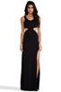 Image 1 of AQ/AQ Tatianna Maxi Dress in Black