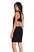 Image 1 of AQ/AQ Felix Mini Dress in Black