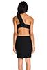Image 4 of AQ/AQ Felix Mini Dress in Black