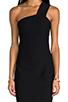 Image 5 of AQ/AQ Felix Mini Dress in Black