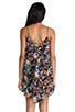 Image 4 of Backstage Modern Love Dress in Black Floral