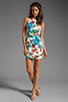 Image 2 of Backstage EXCLUSIVE Dana Tropical Dress in White