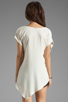 Image 2 of Backstage Short Sleeve Mandy Top in Ivory