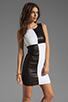 Image 1 of Bailey 44 Dig Out Dress in Black/White
