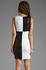 Image 4 of Bailey 44 Dig Out Dress in Black/White