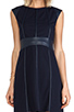 Image 5 of Bailey 44 Caged Bird Dress in Navy