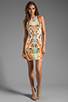 Image 2 of Bardot Rider Print Dress in Multi