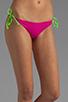 Image 1 of Basta Surf Raglan Reversible Bikini Bottom in Fuchsia/Peri
