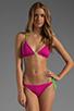 Image 4 of Basta Surf Raglan Reversible Bikini Bottom in Fuchsia/Peri
