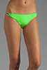 Image 1 of Basta Surf Tonga Reversible Bikini Brief in Peacock/Lime