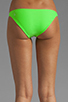 Image 3 of Basta Surf Tonga Reversible Bikini Brief in Peacock/Lime