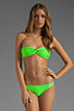 Image 4 of Basta Surf Tonga Reversible Bikini Brief in Peacock/Lime