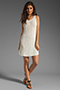 Image 2 of Basta Surf Percy T-Back Dress with Reflector Accents in White
