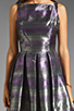 Image 3 of BB Dakota Jensine Horizons Jacquard Dress in Purple