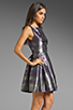 Image 4 of BB Dakota Jensine Horizons Jacquard Dress in Purple