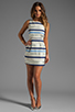 Image 2 of BB Dakota Delaine Stripe Dobby Dress in Multi Blue