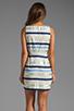 Image 4 of BB Dakota Delaine Stripe Dobby Dress in Multi Blue