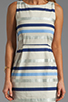 Image 5 of BB Dakota Delaine Stripe Dobby Dress in Multi Blue