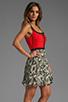 Image 3 of BB Dakota Pfeiffer Tribal Geo Dress in Watermelon Pink