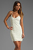 Image 1 of Jack by BB Dakota Maiden Crochet Lace Dress in Ivory