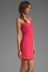 Image 3 of Jack by BB Dakota Maiden Crochet Lace Dress in Fiery Pink