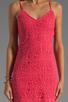 Image 5 of Jack by BB Dakota Maiden Crochet Lace Dress in Fiery Pink