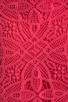 Image 6 of Jack by BB Dakota Maiden Crochet Lace Dress in Fiery Pink