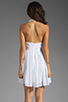 Image 4 of BB Dakota Graciela Pleated Chiffon Dress in Optic White