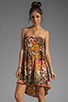 Image 1 of BB Dakota Stillman Orchid Printed Dress in Travertine
