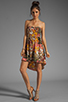 Image 2 of BB Dakota Stillman Orchid Printed Dress in Travertine