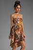 Image 3 of BB Dakota Stillman Orchid Printed Dress in Travertine