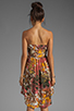 Image 4 of BB Dakota Stillman Orchid Printed Dress in Travertine